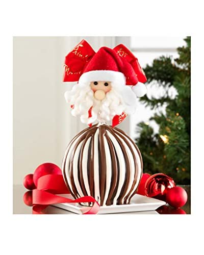 Mrs. Prindable's Jolly Santa Triple Chocolate Jumbo Apple