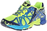 Asics Gel-Noosa TRI 9 GS Running Shoe (Little Kid/Big Kid),Flash Yellow/Royal/Navy,5 M US Big Kid