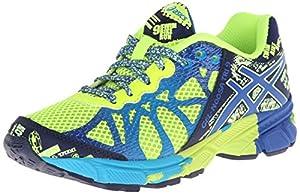 Asics Gel-Noosa TRI 9 GS Running Shoe (Little Kid/Big Kid),Flash Yellow/Royal/Navy,7 M US Big Kid
