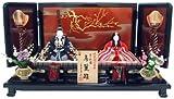 秀光オリジナル限定品 雛人形木目込親王平台飾りセット 真多呂作 経済産業大臣指定伝統工芸作品、真多呂の技術を惜しみなくつぎ込んだ極上のセットです