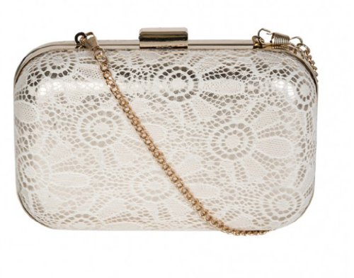 New Spring Style Lace Box Clutch