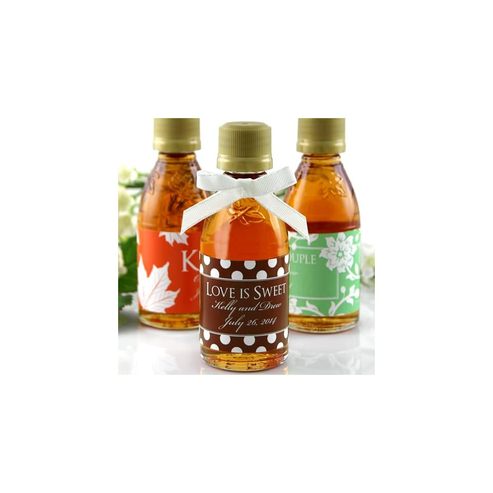 a86aea59fb6 Personalized Maple Syrup Favors on PopScreen