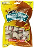 Dingo Mini Flavor Blasts Bones, Bacon Flavor, 12-Count