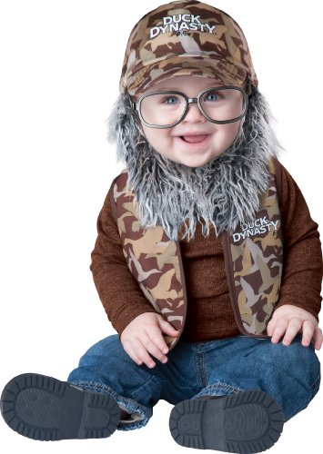 Duck Dynasty Baby Boy's Uncle Si Costume