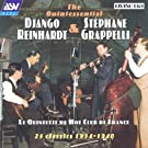The Quintessential Django Reinhardt and Stephane Grappelli