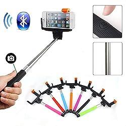 AE Extendable Self Portrait Selfie Handheld Stick Monopod With Smartphone Adajustable Holder