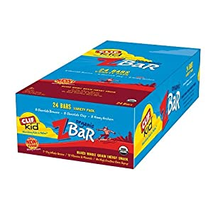 Amazon - Clif Kids Organic ZBar 24-ct Box - $10.19