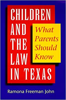 What is the legal Age of Consent in Texas