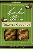 Trader Joe's Old World Recipe Toasted Coconut Cookie Thins