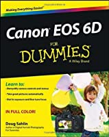 Canon EOS 6D For Dummies Front Cover