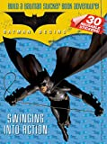 Batman Begins Sticker Storybook: Swinging into Action