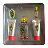 Ed Hardy Villain Women Gift Set (Eau de Parfum, Eau de Parfum, Lotion, Shower Gel, Tattoo Design) (Tamaño: 3 Ounces)