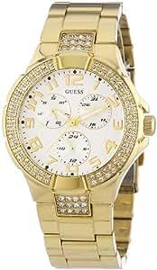 Guess - 16540L1 - Montre Femme - Quartz chronographe - Prism - Bracelet en métal doré