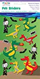 Fiesta Crafts Wizards and Dragons Felt Stickers Pack of 6