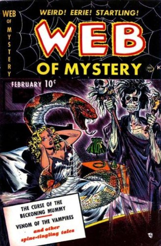 Web of Mystery - 1 cover