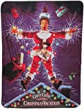 Christmas Vacation Shocking Chevy Fleece Throw Blanket