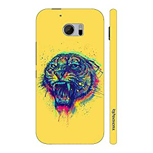 Enthopia Designer Hardshell Case Tiger Roar Back Cover for HTC One M10