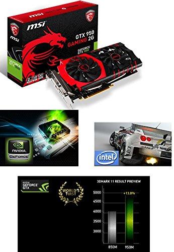 New msi gaming intel i5 turbo laptop 8gb ram 2 graphics cards inc dedicated 2gb geforce 1tb hdd windows 10 inc 5 year warranty