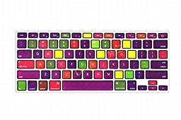 DHZ® New Arrival Nine Color Chocolates Fabrics Texture Keyboard Cover Silicone Skin for MacBook Air 13\