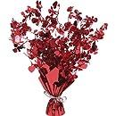 Creative Converting Metallic Foil Spray Centerpiece, Cupids and Hearts