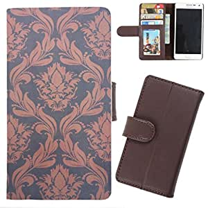 DooDa - For Micromax Canvas Magnus A117 PU Leather Designer Fashionable Fancy Wallet Flip Case Cover Pouch With Card, ID & Cash Slots And Smooth Inner Velvet With Strong Magnetic Lock