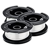 BLACK?? AF-100-3ZP 30-Feet 0.065-Inch Line String Trimmer Replacement Spool, 3-Pack