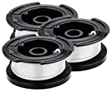 Black& Decker AF-100-3ZP 30-Feet 0.065-Inch Line String Trimmer Replacement Spool, 3-Pack