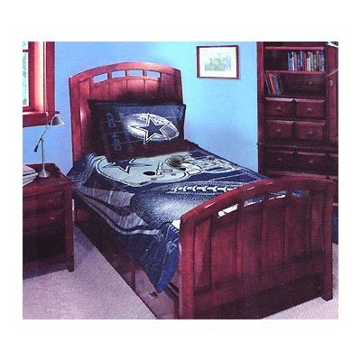 product name nfl dallas cowboys bedding comforter set twin and