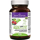 New Chapter Perfect Prenatal Vitamins Fermented with Probiotics + Wholefoods + Folate + Iron + Vitamin D3 + B Vitamins + Organic Non-GMO Ingredients - 192 ct