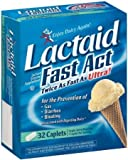 Lactaid Fast Act Lactase Enzyme Supplement, Caplets 32-Count (Pack Of 6)