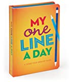My One Line a Day: A Three-Year Memory Book