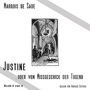 Das Leiden der Justine 4 Hörbuch