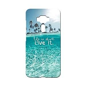 BLUEDIO Designer Printed Back case cover for Asus Zenfone 3 (ZE552KL) 5.5 Inch - G0916