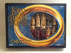 The Lord Of The Rings Chess Set The Return