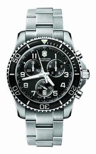 Victorinox Swiss Army Men's 241432 Maverick GS Black Dial Watch