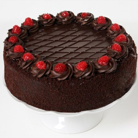 Mother's Day Gift Chocolate Chambord Cake