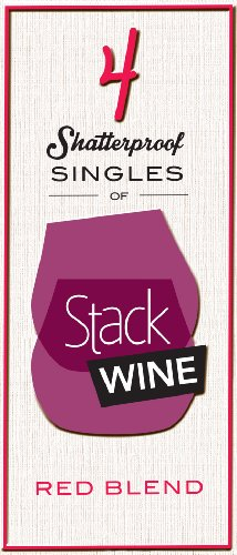 Nv Stack Wine Red Blend, 4 X 187 Ml