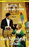 img - for Lord Nightingale's Debut (Zebra Regency Romance) book / textbook / text book
