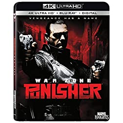 Punisher: War Zone [4K Ultra HD + Blu-ray]