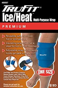 Tru-Fit Ice heat Multi Wrap With Gel Pack Blue One Size Fits All by TruFit