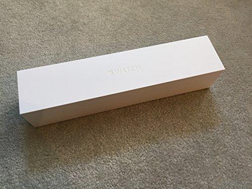 Apple Watch Sports 42mm Silver Aluminum Case (Black)