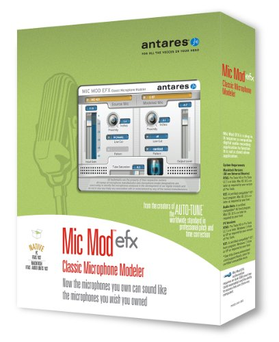 Antares Audio Mic Mod EFX Audio Plug-in