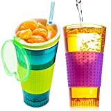 Snackeez Cup-| The All-in-one, Travel Cup Snack Drink Snack And Easy Go Anywhere Snacking Solution! As Seen On...