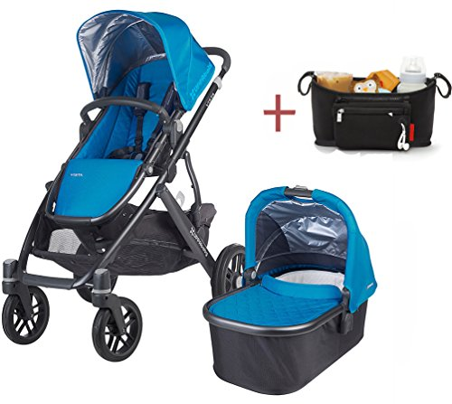 Find Bargain 2015/2016 Uppababy Vista Stroller with Rain Cover & modd mini Stroller Console (georgie...