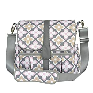 jj cole backpack diaper bag pink lily discontinued by manufacturer diaper tote. Black Bedroom Furniture Sets. Home Design Ideas