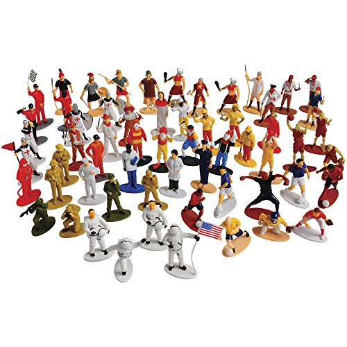 US-Toy-Pretend-Play-People-Figures-Assortment-60-Pcs
