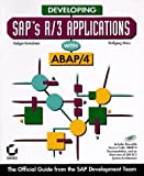 Developing Saps R/3 Applications with ABAP/4 with CD-ROM
