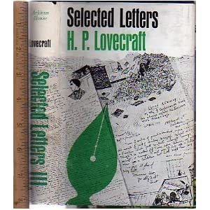 Selected Letters III - H.P. Lovecraft