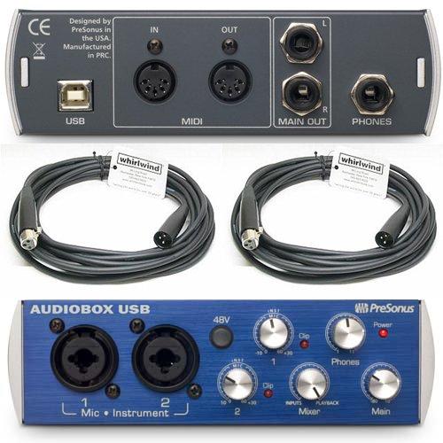 Best Price Presonus Audiobox Usb Recording Interface Audio