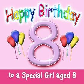 Amazon.com: Happy Birthday - 8 Today! (Dance Mix): Wendy
